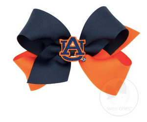 Auburn University Two Tone Bow