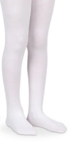 Pima Cotton Tights - White