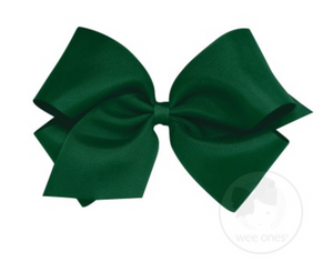 Forrest Green Grosgrain Bow