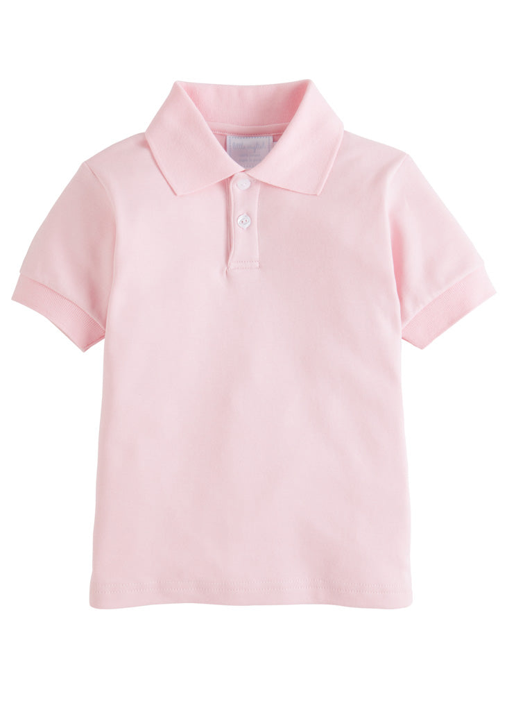 Solid Polo - Pink
