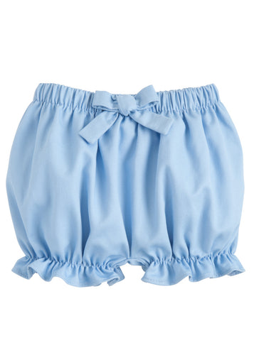 Twill Bow Bloomer - Light Blue