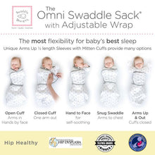 Omni Swaddle Sack with Wrap - Tiny Hedgehog