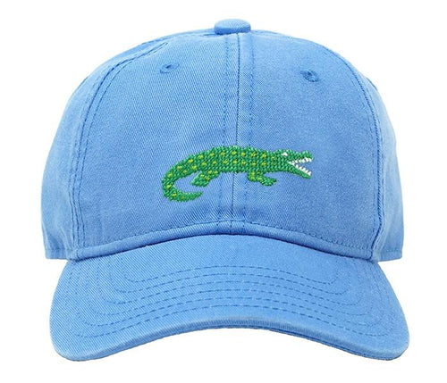 Alligator on Coast Blue Kids Hat