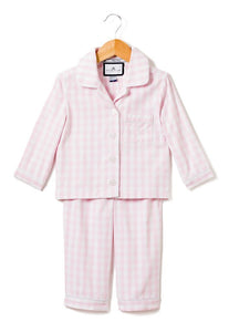 Pajama Set - Pink Gingham