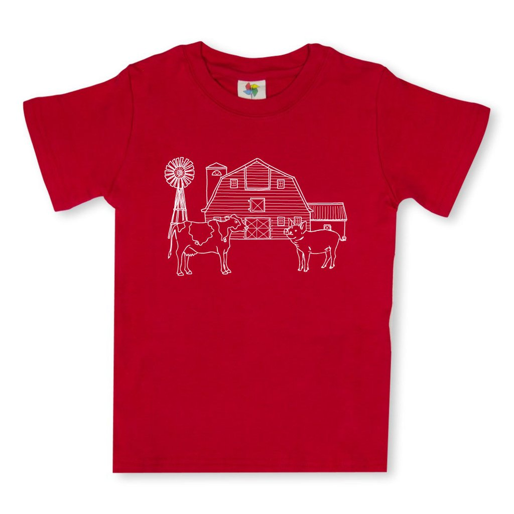 Barnyard Short Sleeve Tee - Red