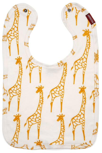 Traditional Bib - Yellow Giraffe