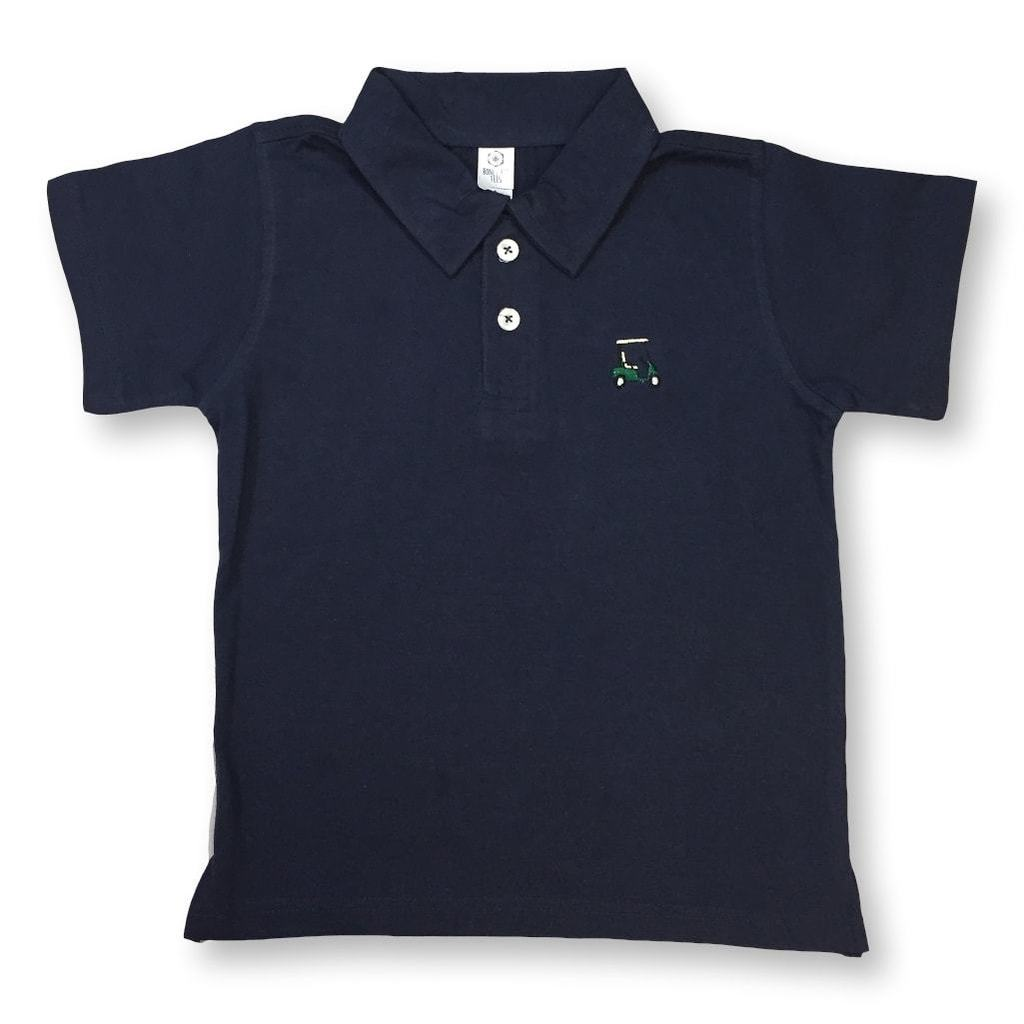 Golf Cart Polo - Navy