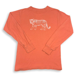 Tiger Long Sleeve Tee - Orange