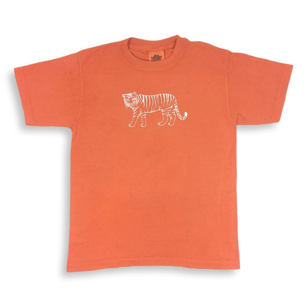 Tiger Short Sleeve Tee - Orange