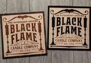 Black Flame Candle Company - Sanderson Sisters - Hocus Pocus Sign