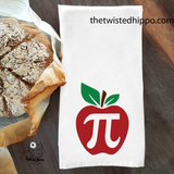 Apple Pi Funny Dish/ Hand Towel Math Teacher Appreciation Gift