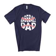 CLEARANCE Baseball Dad Game Day Unisex  Tee