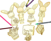 Bunny Family - Bunny Patch Art Kit