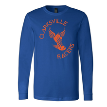 Load image into Gallery viewer, Clarksville Racers Youth Adult Long Sleeve Unisex Lightweight T-shirt