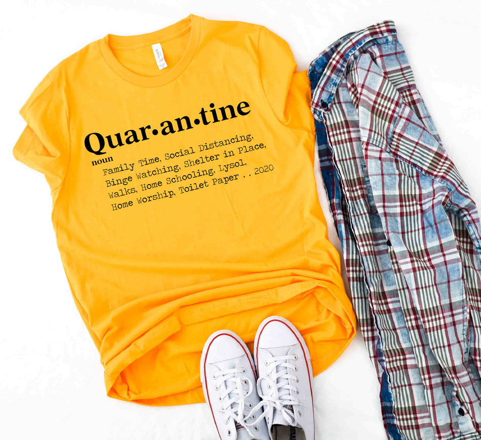 Customize what Quarantine has meant to you ...