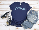 Grace. Christian, Faith, Unisex Multi-Color Tee