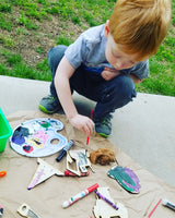 """These DIY Painter kits keep my little guy busy"" - Marie B."