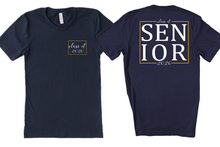 Load image into Gallery viewer, Class of 2020 Senior Graduation School Colors Custom Unisex Tee