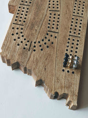 TN Wooden Cribbage Board