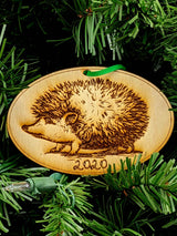 BOGO Free Hedgehog Wooden Ornament