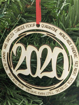 A Yearly Ornament that sums up 2020 . . .
