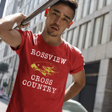 Hawks Rossview Cross Country Red Tee