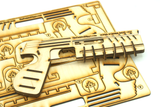 Wooden Super Rubber Band Gun Pistol Model-Kit-DIY 3D Puzzle