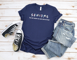 Seniors The One Where WE Were Quarantined - Friends - Unisex Various Colors Tee