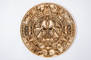 Star Wars Round Wood Mandala