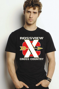 Rossview XC Cross Country black Tee