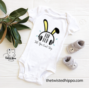 Hip Hop Till You Can't Stop Easter Baby Bodysuit - 4 COLORS