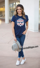 Load image into Gallery viewer, Baseball Mom Game Day Unisex  Tee