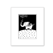 Bohemian Elephant Nursery Kid Art