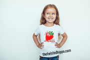 Feeling Cute Might Eat Strawberries later, idk Youth Tee