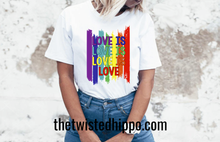 Load image into Gallery viewer, Love is Love is Love is Love Pride Month