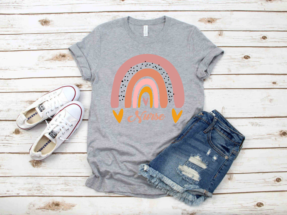 Boho Rainbow - NURSE - essential worker