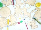Our DIY Painting Kits keep those little ones busy