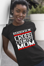 Load image into Gallery viewer, Rossview Cross Country Mom Black Tee