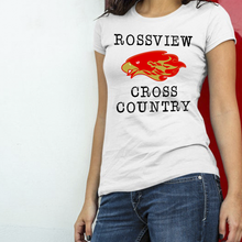 Load image into Gallery viewer, Hawks Rossview Cross Country white Tee