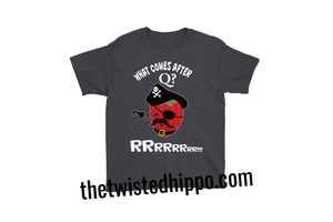Strawberry Pirate Funny Toddler Tee