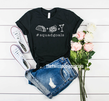 Load image into Gallery viewer, Taco Tuesday Squad Goals Unisex Tee