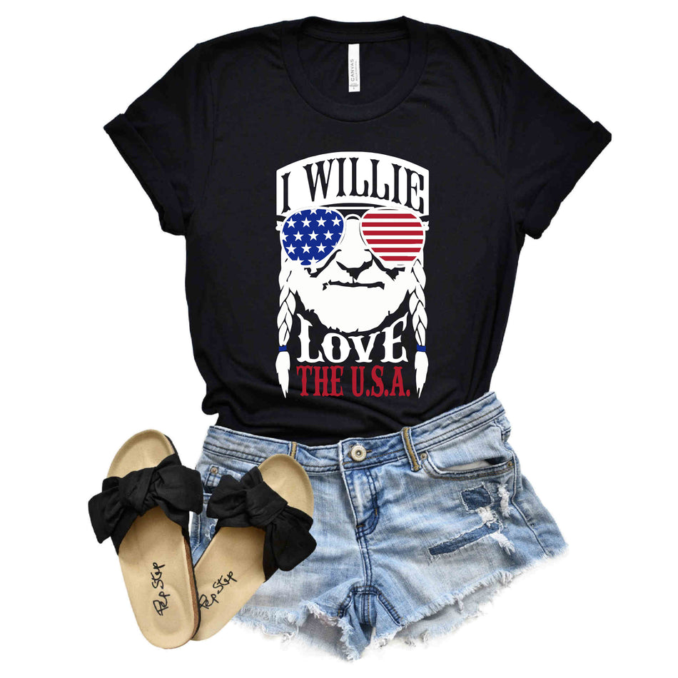 I Willie Love the USA, How About You?