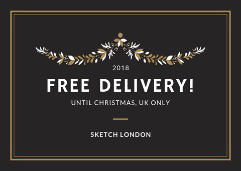 Sketch London fashion free uk delivery Christmas gifts