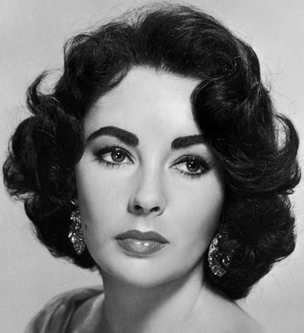 Elizabeth Taylor strong eyebrows beauty make up