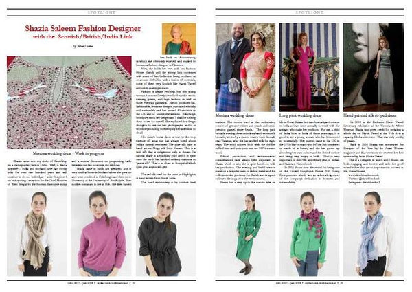 Sketch featured in India Link magazine