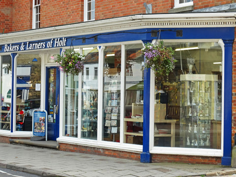 Sketch Stockist Bakers and Larners of Holt Norfolk