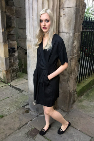Jemima Playsuit, Black