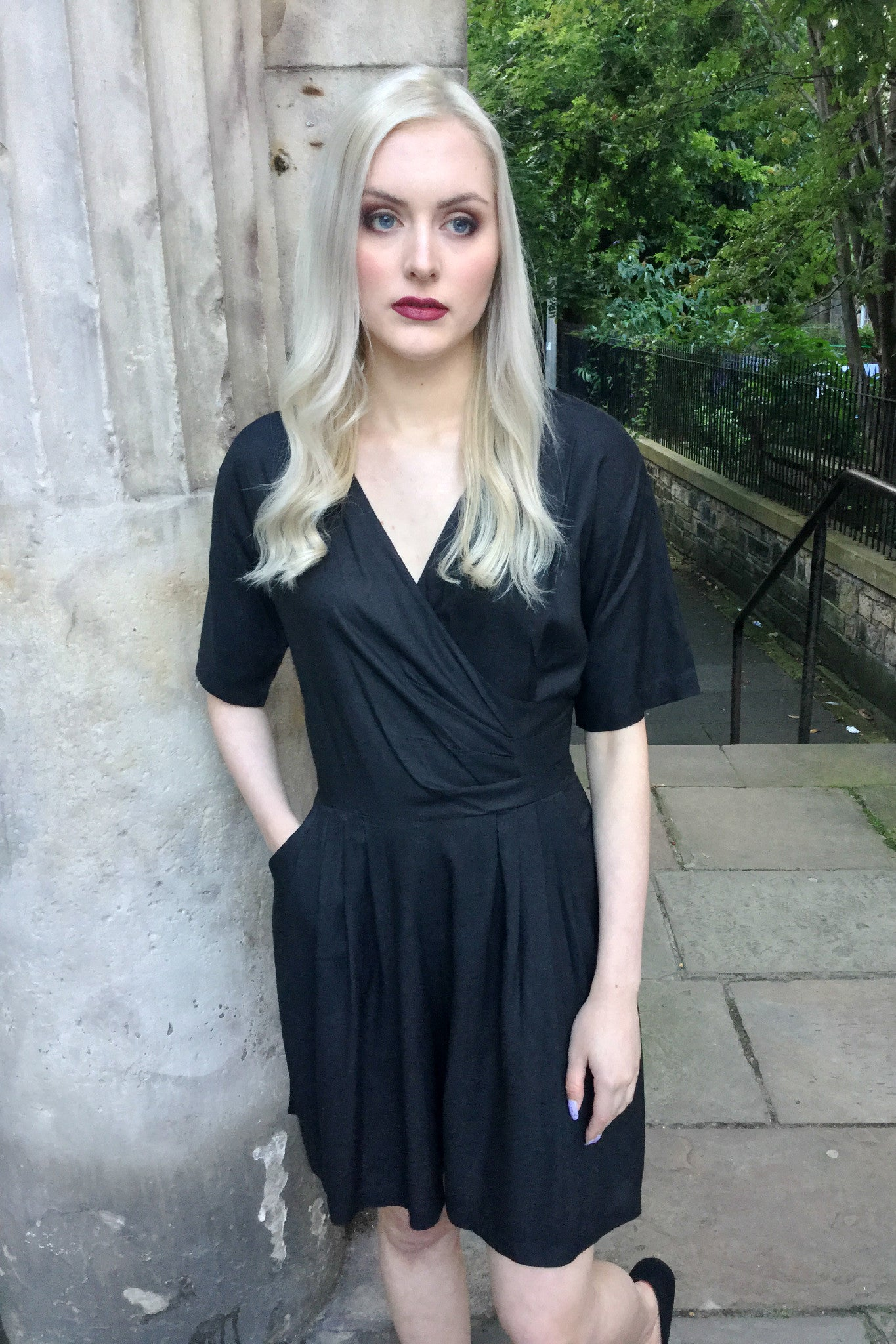 Sketch London Black Playsuit Ethical Fashion Women