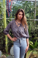 Sketch London Print Shirt Blouse for Women Cotton Summer 2016 Ethical Sustainable
