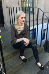 Sketch London Black Top Ethical Sustainable Fashion Women